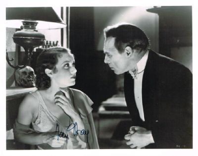 Fay Wray Autograph Authentic Signed Photo For Sale